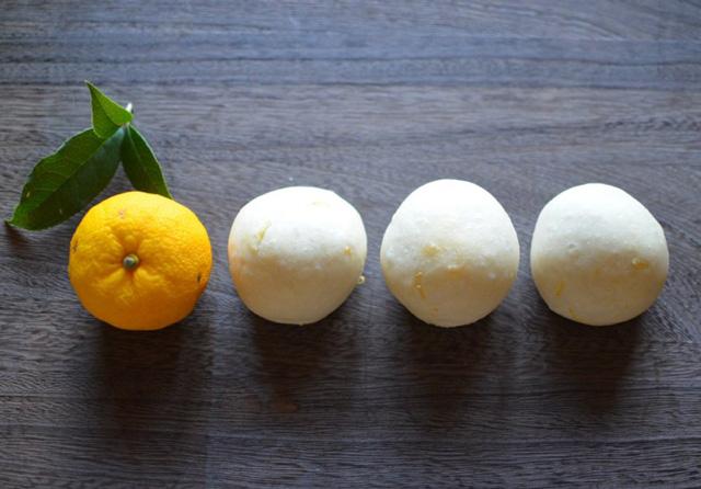 「大雪」の柚子ぱん【シリーズ:二十四節気を楽しむぱん】