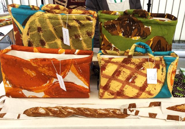 【イベントレポート】パンをモチーフにした色鮮やかな布とグッズ | 布博 in 東京 vol.6