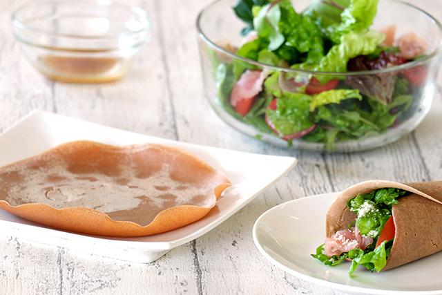 「小麦ふすま」の栄養成分に注目!ふすま粉を使ったガレットレシピをご紹介