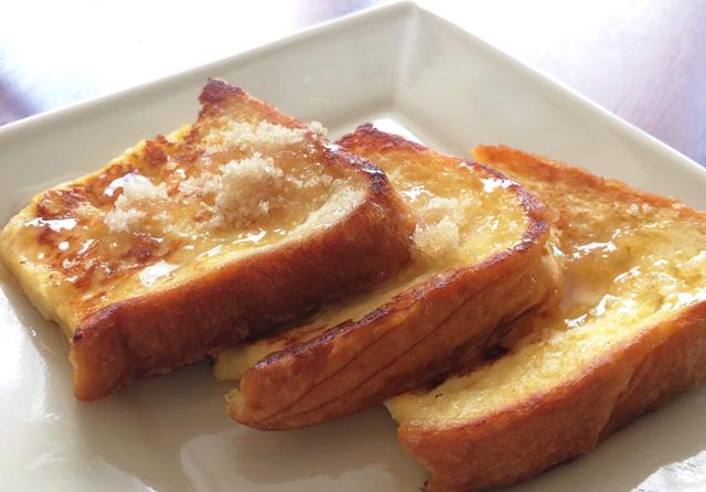 日本でも人気のパン料理・フレンチトーストを簡単に和風アレンジしよう♪