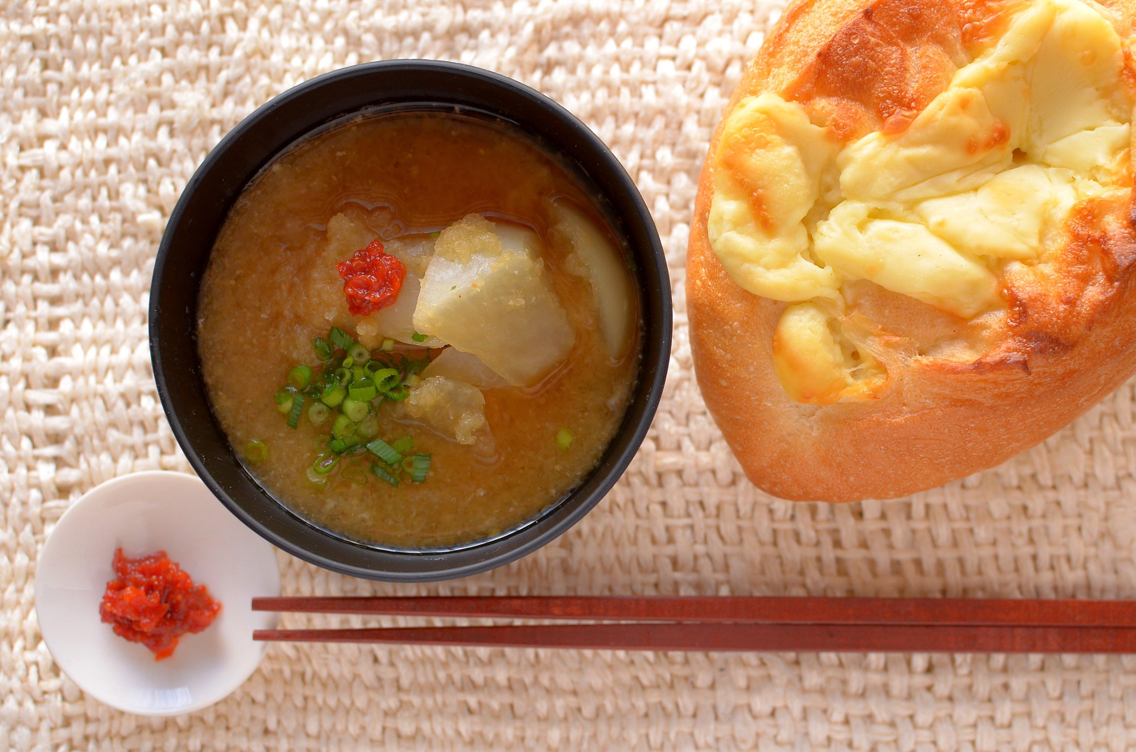 【一汁一ぱんのすすめ】大根おろしとかんずりの味噌汁