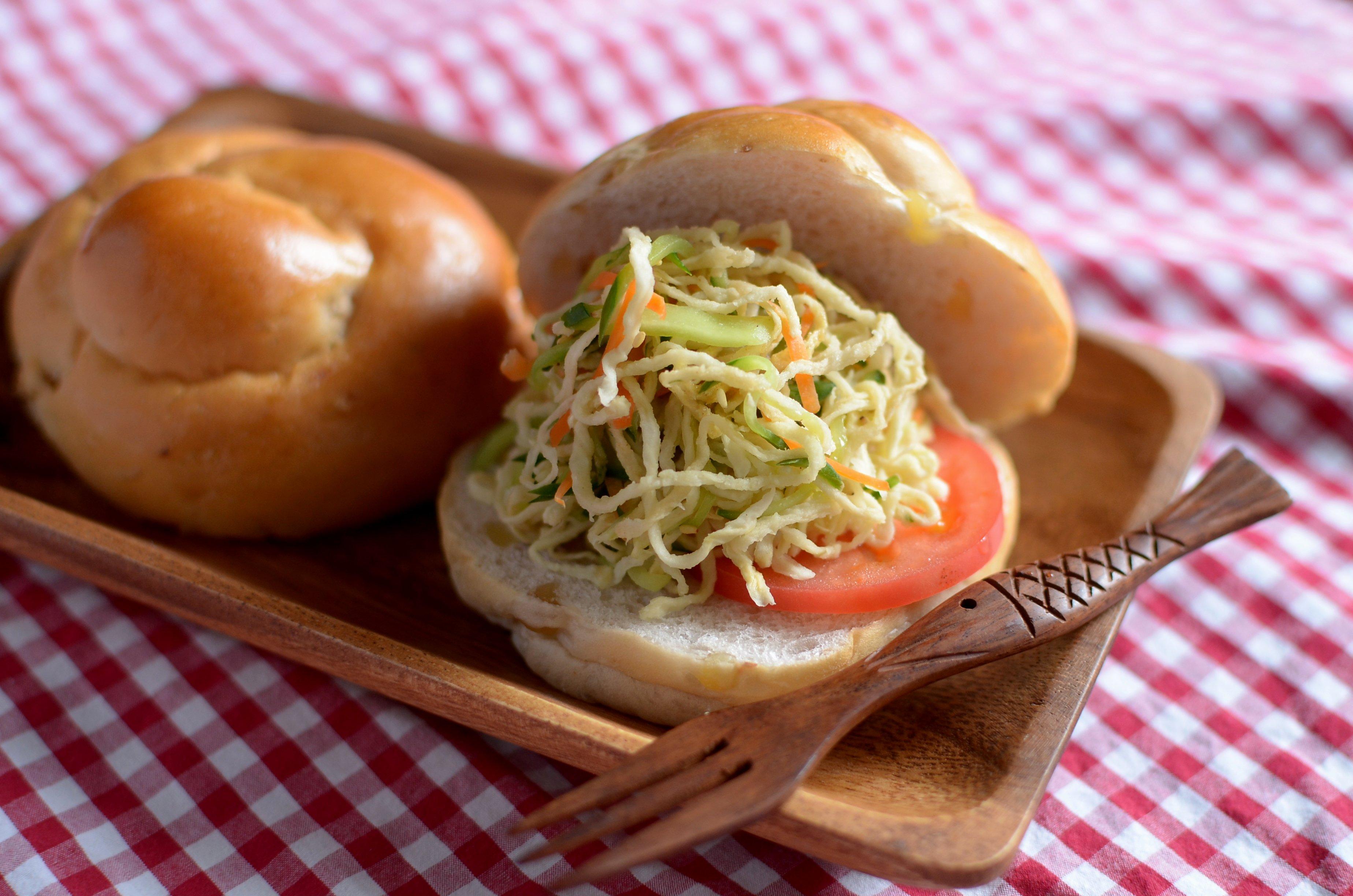 【ぱんのおかず】切干大根のごまサラダ
