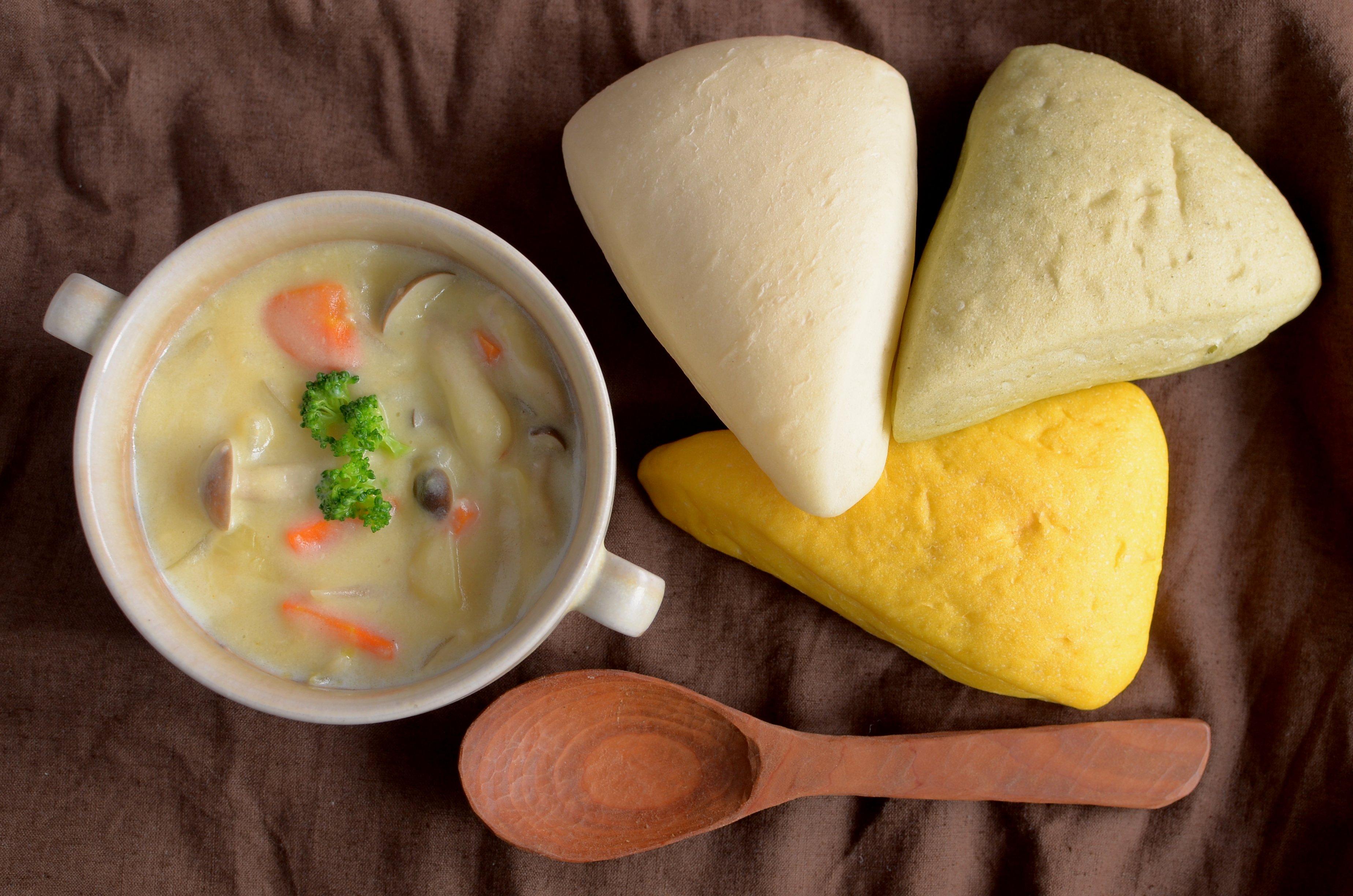 【一汁一ぱんのすすめ】米粉の味噌クリームシチュー