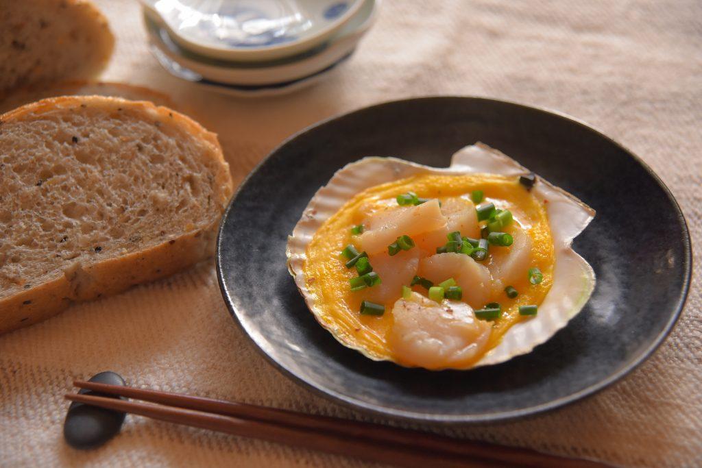 【ぱんと郷土料理と】貝焼き味噌